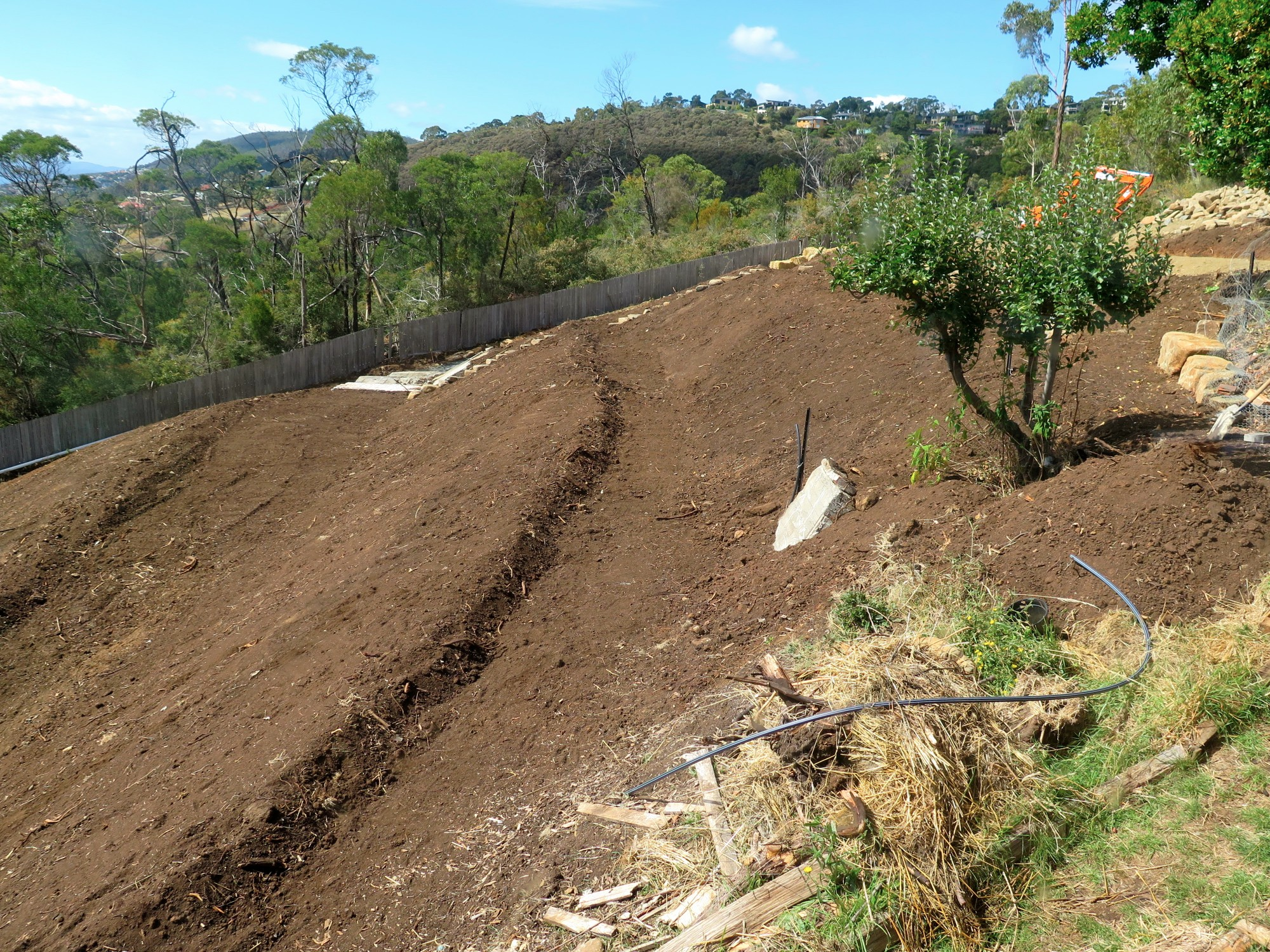 How To Landscape A Steep Slope Good Life Permaculture