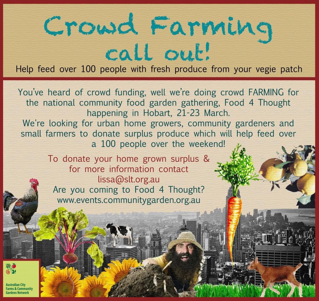 Crowd Farming!